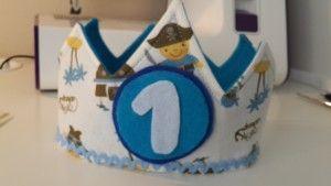 cómo hacer una corona de cumpleaños