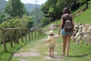 Vall de Núria con niños