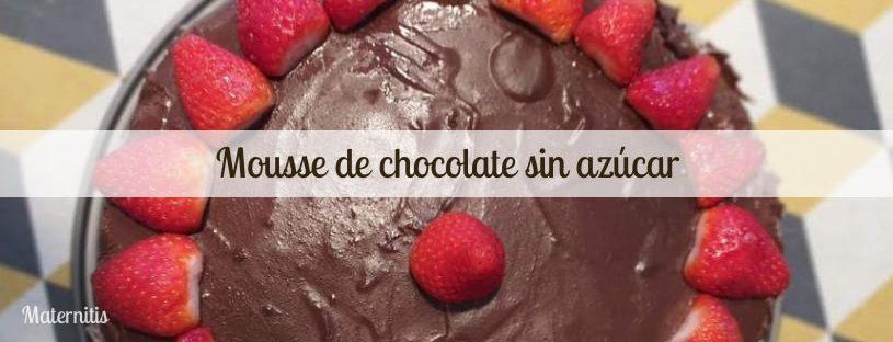 mousse de chocolate sin azúcar (1)