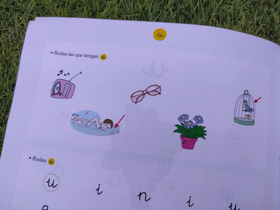 cuadernos para aprender a leer