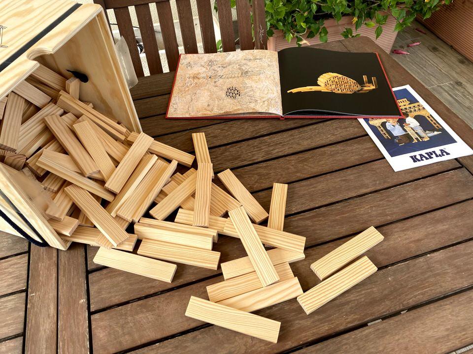 juegos de construcción KAPLA