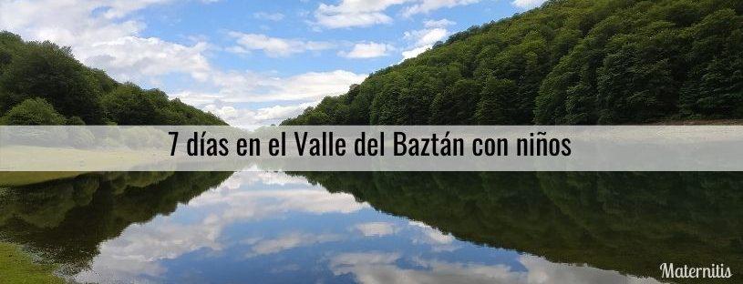 valle del baztán con niños